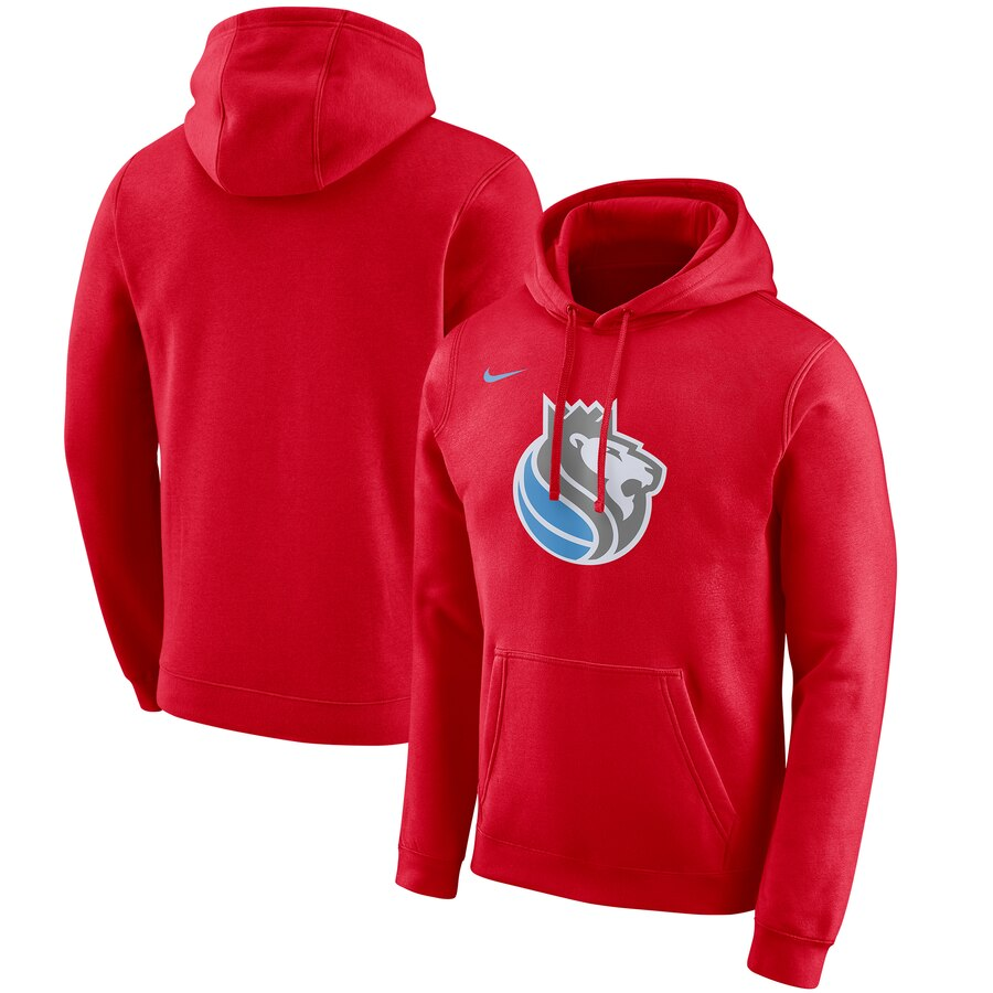 Sacramento Kings Nike 2019-20 City Edition Club Pullover Hoodie Red