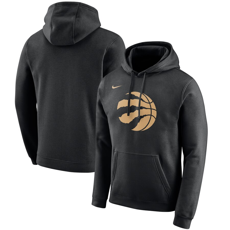 Toronto Raptors Nike 2019-20 City Edition Club Pullover Hoodie Black
