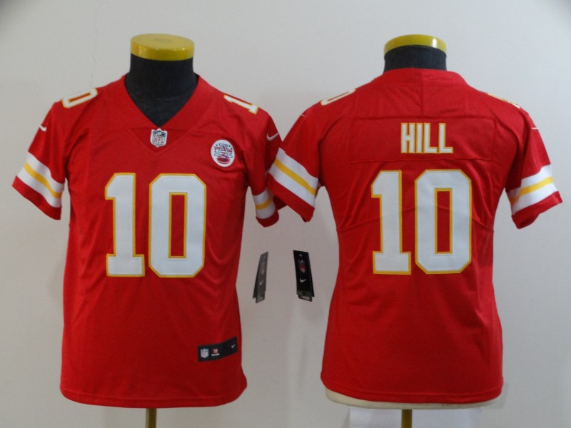 Nike Chiefs 10 Tyreek Hill Red Women Vapor Untouchable Limited Jersey