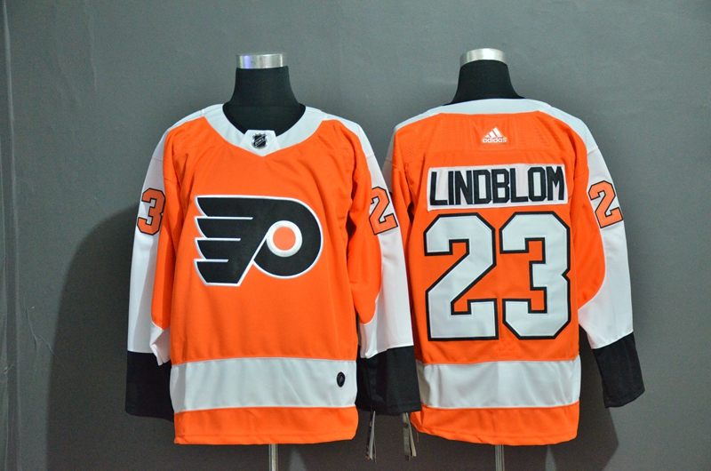 Flyers 23 Oskar Lindblom Orange Adidas Jersey
