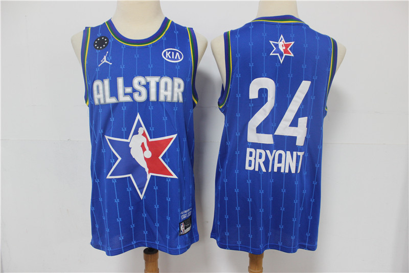 Lakers 24 Kobe Bryant Blue 2020 NBA All-Star Jordan Brand Swingman Jerseys