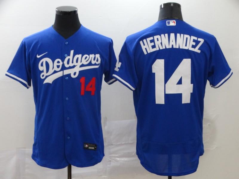 Dodgers 14 Enrique Hernandez Royal 2020 Nike Flexbase Jersey