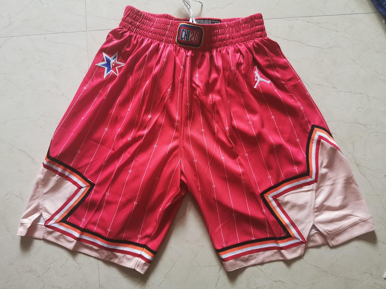 Bulls 2020 NBA All-Star Red Jordan Brand Swingman Shorts