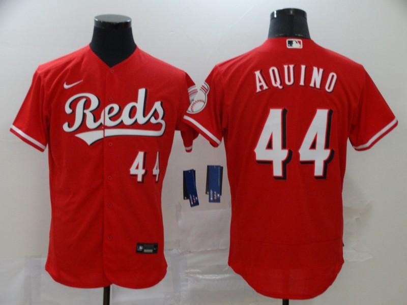 Reds 44 Aristides Aquino Red 2020 Nike Flexbase Jersey
