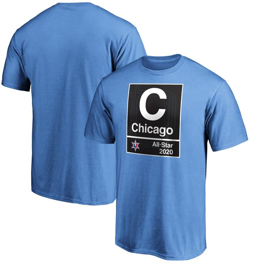 Fanatics Branded Blue 2020 NBA All-Star Game Subway T-Shirt