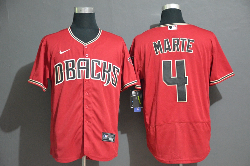 Diamondbacks 4 Ketel Marte Red Nike Flexbase Jersey