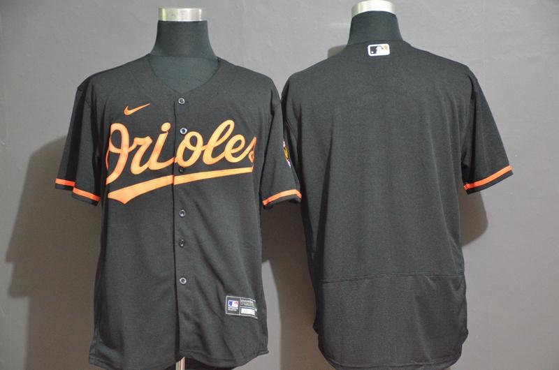 Orioles Blank Black Nike 2020 Flexbase Jersey