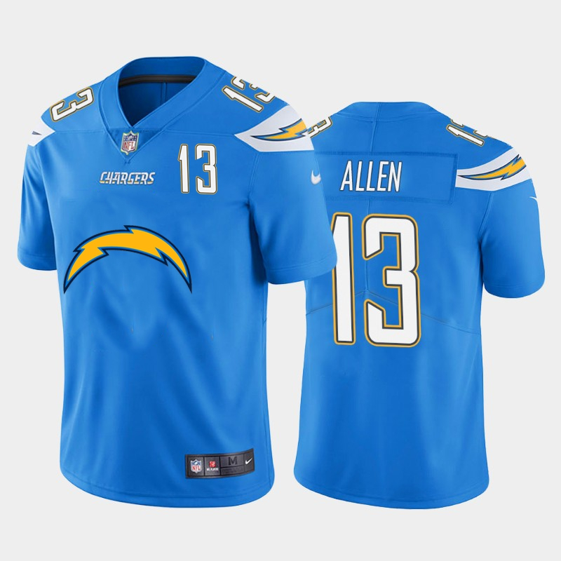 Nike Chargers 13 Keenan Allen Blue Team Big Logo Number Vapor Untouchable Limited Jersey