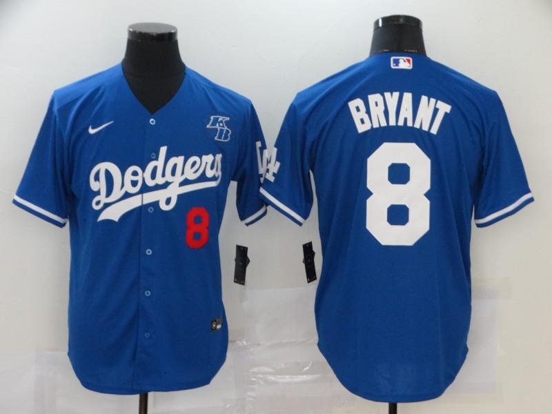 Dodgers 8 Kobe Bryant Royal 2020 Nike KB Cool Base Jersey