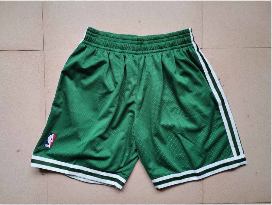 Celtics Green Mitchell Ness Mesh Swingman Shorts