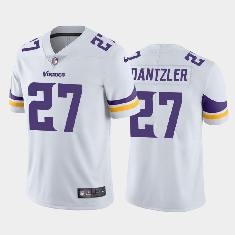 Nike Vikings 27 Cameron Dantzler White 2020 NFL Draft Vapor Untouchable Limited Jersey