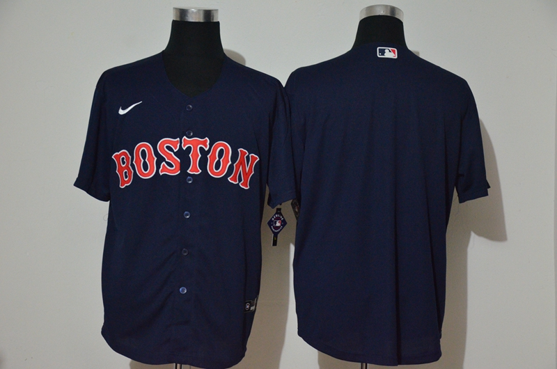 Red Sox Blank Navy 2020 Nike Cool Base Jersey
