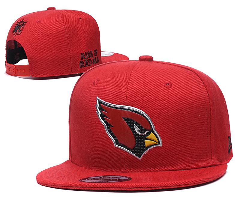 Arizona Cardinals Team Logo Red Adjustable Hat YD