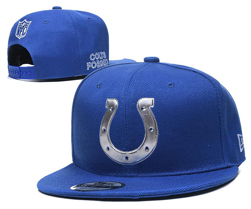Colts Team Logo Royal Adjustable Hat YD