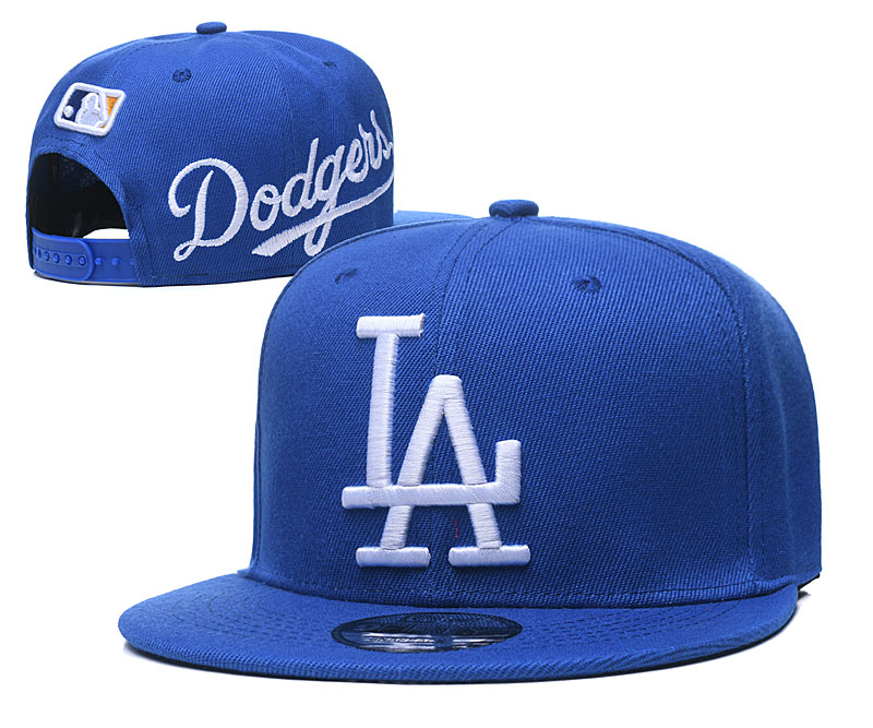 Dodgers Fresh Logo Royal Adjustable Hat GS