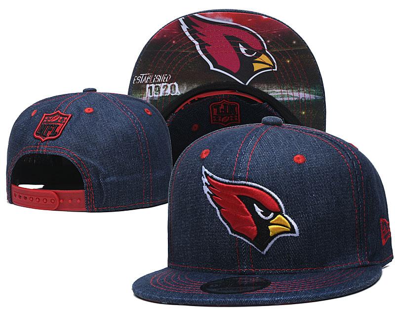 Arizona Cardinals Team Logo Navy Established Adjustable Hat YD