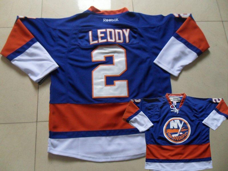 Islanders 2 Leddy Blue Jersey