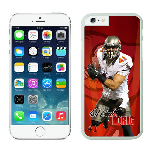 Tampa Bay Buccaneers iPhone 6 Cases White16
