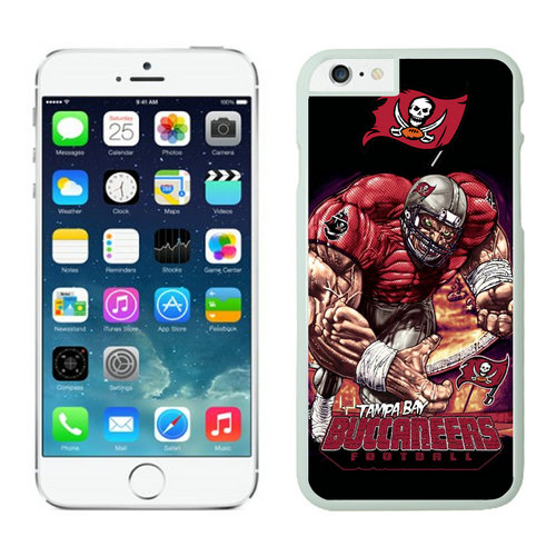 Tampa Bay Buccaneers iPhone 6 Cases White25