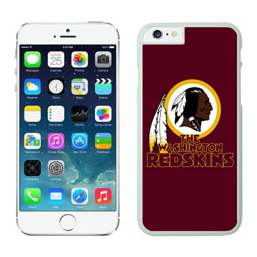 Washington Redskins iPhone 6 Plus Cases White12