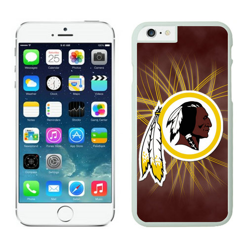 Washington Redskins iPhone 6 Plus Cases White14