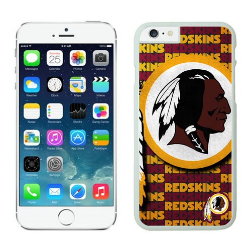 Washington Redskins iPhone 6 Plus Cases White19