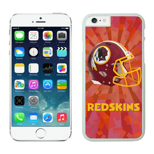 Washington Redskins iPhone 6 Plus Cases White24