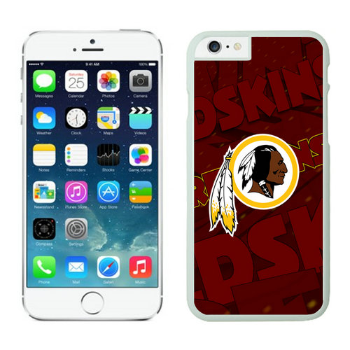 Washington Redskins iPhone 6 Plus Cases White25