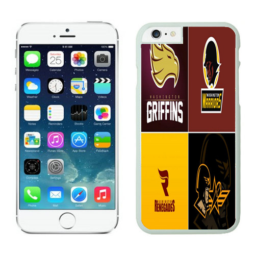 Washington Redskins iPhone 6 Plus Cases White44
