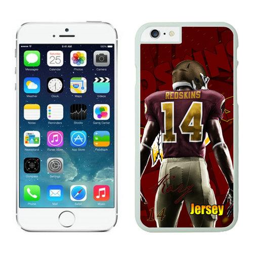 Washington Redskins iPhone 6 Plus Cases White8
