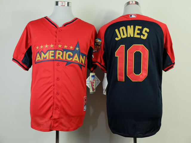 American League Orioles 10 Jones 2014 All Star Jerseys