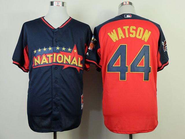 National League 44 Watson Red 2014 All Star Jerseys