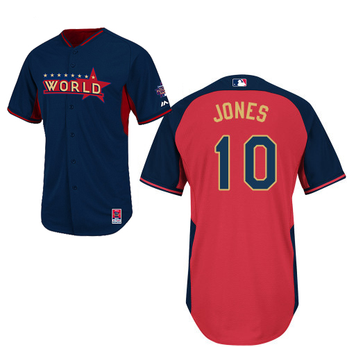 World 10 Jones Blue 2014 Future Stars BP Jerseys