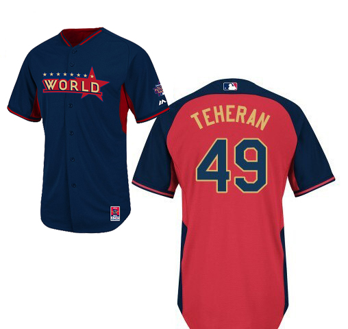 World 49 Teheran Blue 2014 Future Stars BP Jerseys