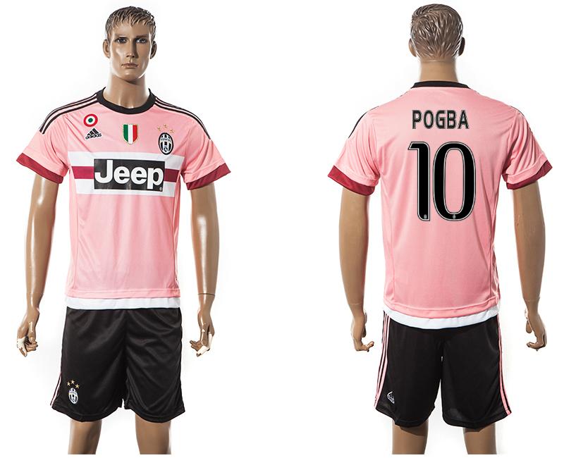 2015-16 Juventus 10 POGBA Away Jersey