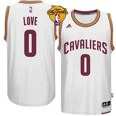 Cavaliers 0 Love White 2015 NBA Finals New Rev 30 Jersey