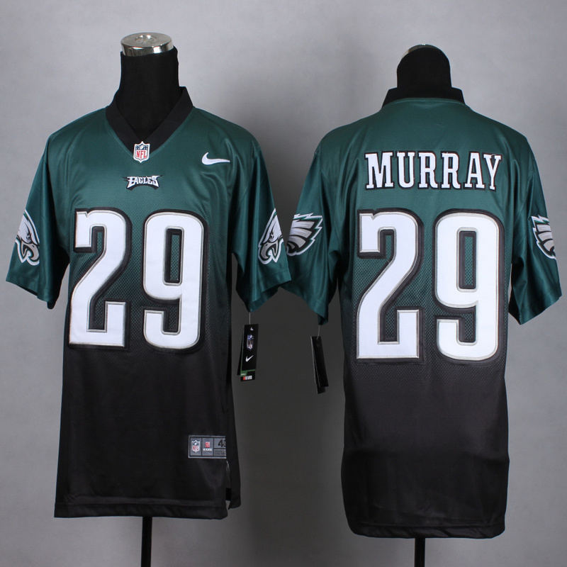 Nike Eagles 29 DeMarco Murray Green And Black Drift Fashion II Elite Jersey