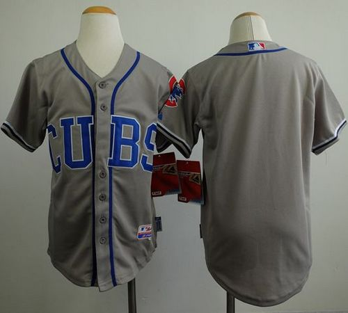 Cubs Grey Youth Jersey