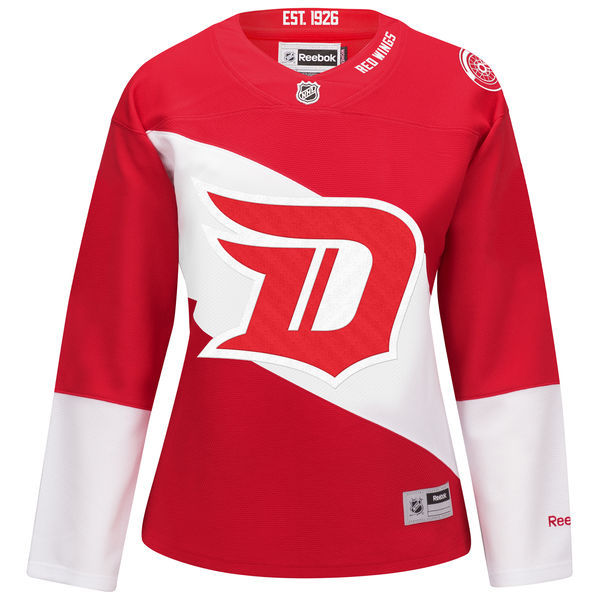 Detroit Red Wings Red Women's Premier Home Custom Reebok Jersey