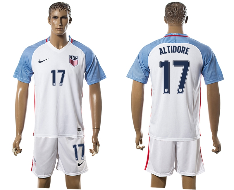 2016-17 USA 17 ALTIDORE Home Soccer Jersey