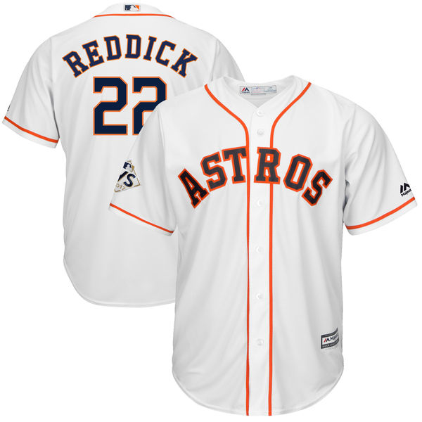 Astros 22 Josh Reddick White 2017 World Series Bound Cool Base Player Jersey