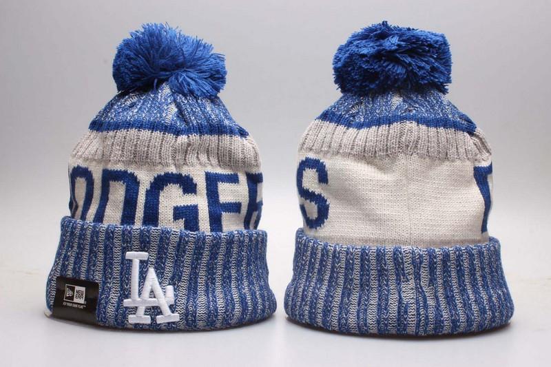 Dodgers Team Logo Knit Hat YP