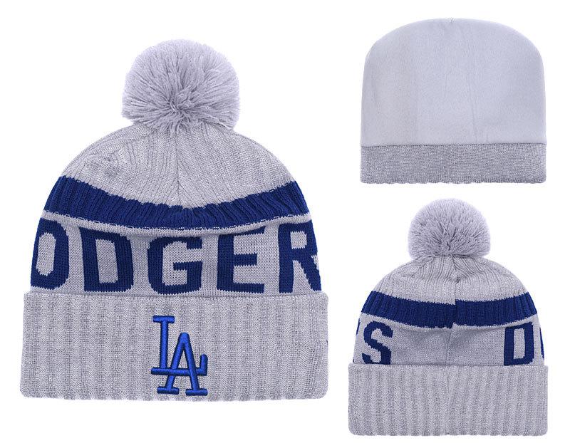 Dodgers Team Logo Knit Hat YD