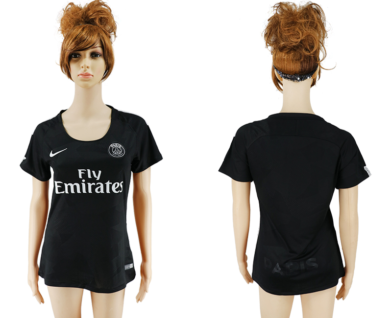 2017-18 Paris Saint-Germain Third Away Women Soccer Jersey