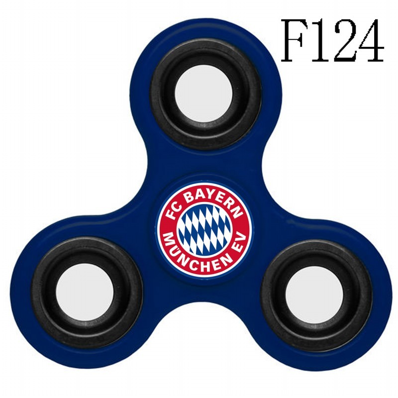 Bayern Munich Team Logo Blue 3 Way Fidget Spinner