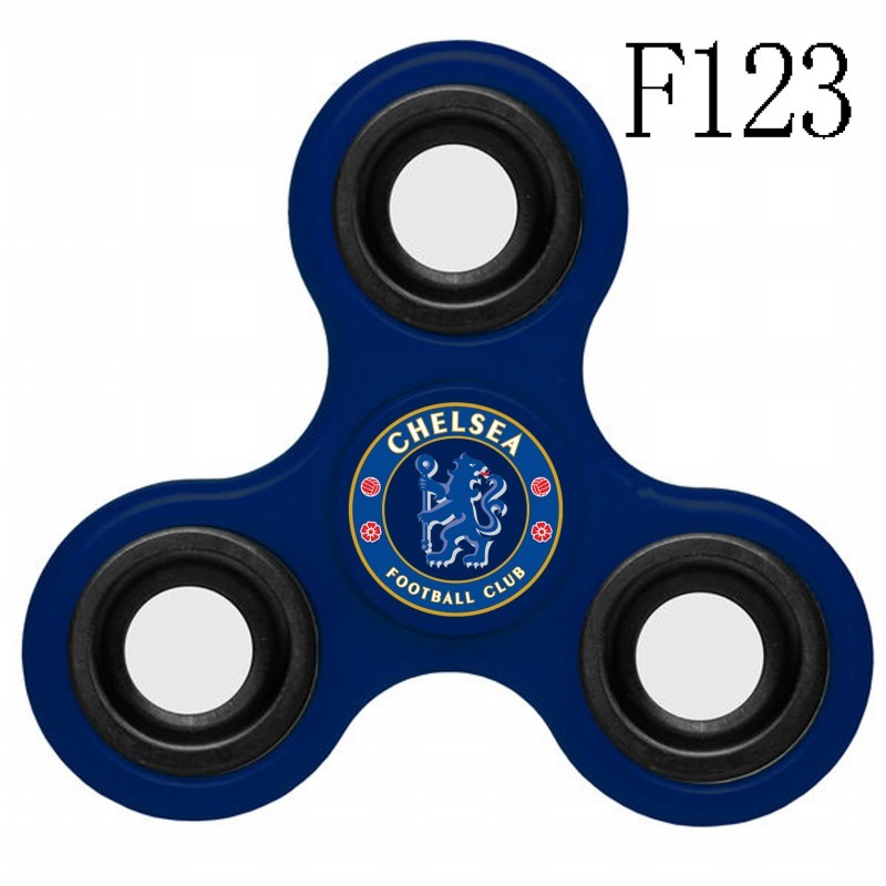 Chelsea Team Logo Blue 3 Way Fidget Spinner