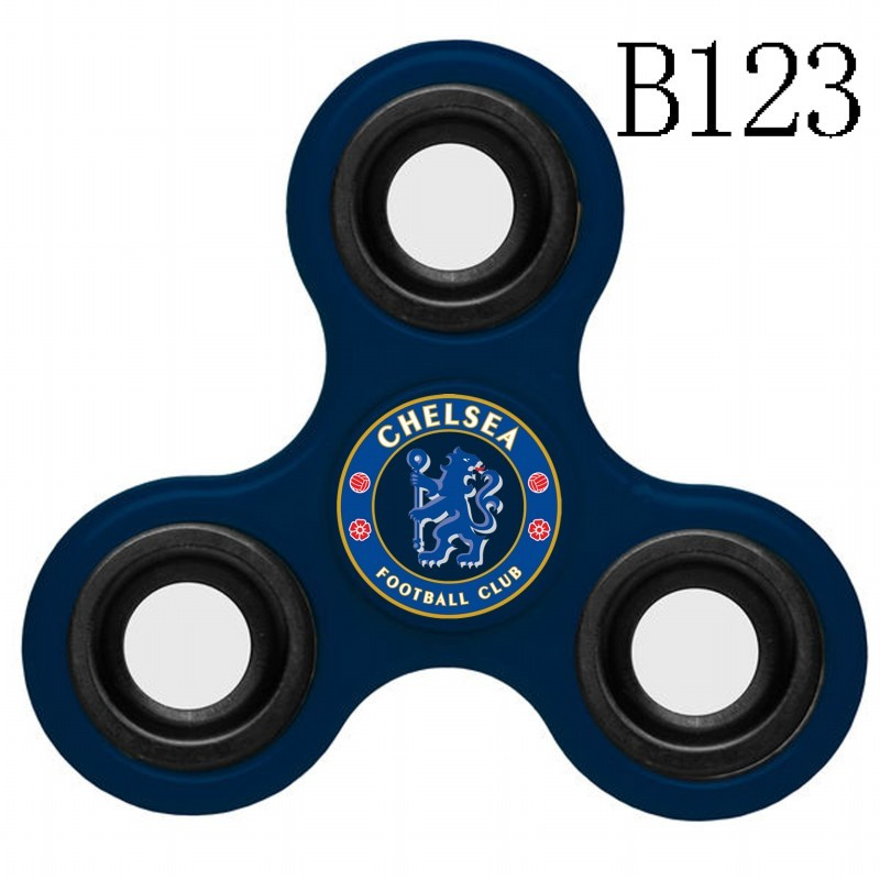 Chelsea Team Logo Navy 3 Way Fidget Spinner