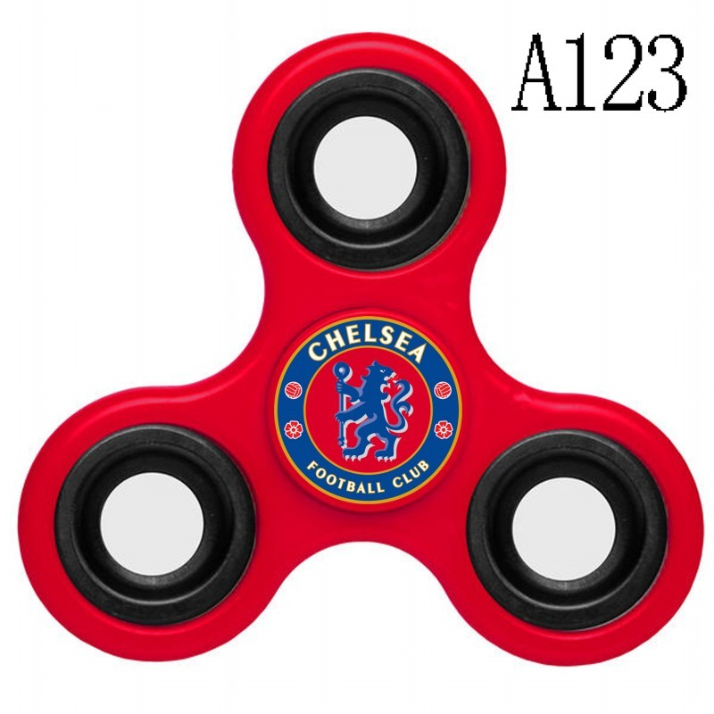 Chelsea Team Logo Red 3 Way Fidget Spinner