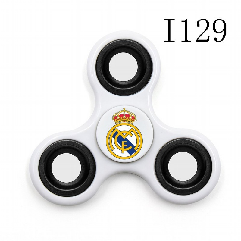 Chelsea Team Logo White 3 Way Fidget Spinner