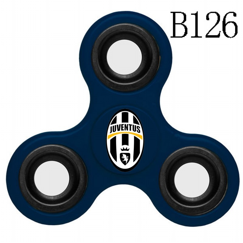 Juventus Team Logo Navy 3 Way Fidget Spinner